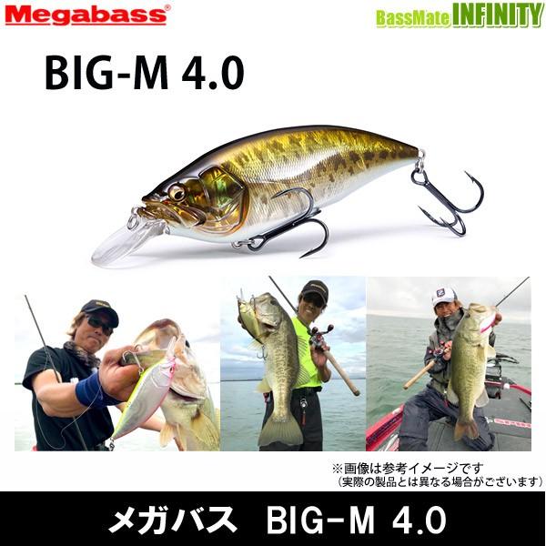 ●メガバス BIG-M 4.0 【メール便配送可】
