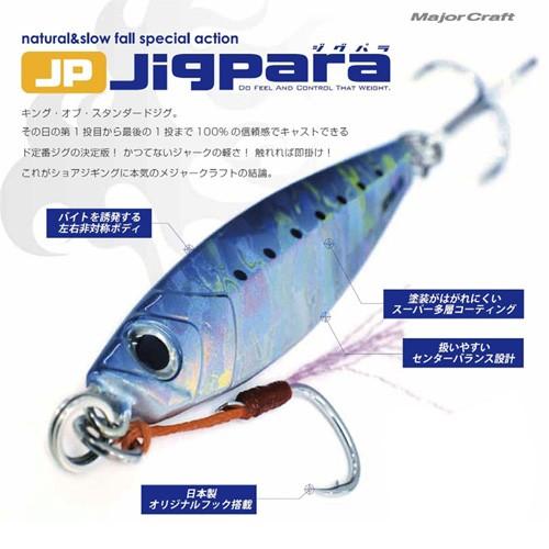 ●メジャークラフト ジグパラ ショート JPS 40g...
