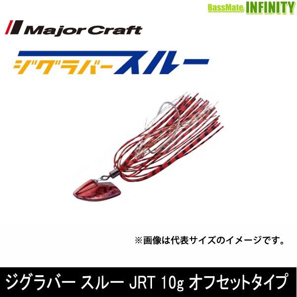 ●メジャークラフト ジグラバー スルー JRT 10g ...