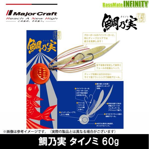 ●メジャークラフト 鯛乃実 タイノミ 60g 【メー...