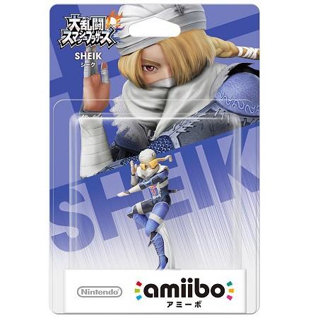 【新品】【WiiUHD】amiibo シーク(大乱闘スマッシ...