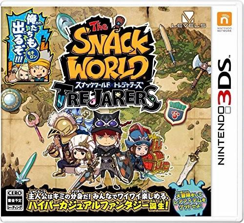 [100円便OK]【新品】【3DS】スナックワールド ト...