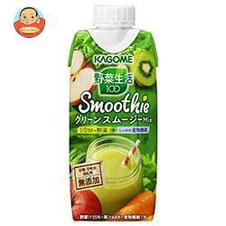 【送料無料】カゴメ 野菜生活100 Smoothie グリー...