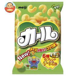 【送料無料】明治 カール チーズあじ 64g×10袋入...