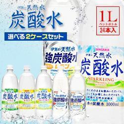 【送料無料】サンガリア 伊賀の天然水 炭酸水 選...
