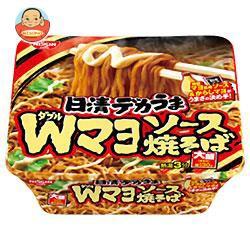 【送料無料】日清食品日清デカうまWマヨソース焼そば153g×12個入
