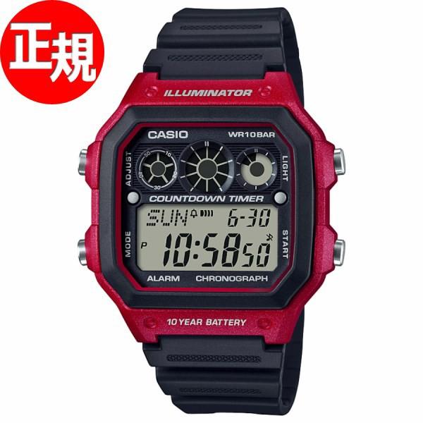カシオ CASIO スタンダード 腕時計 メンズ AE-130...