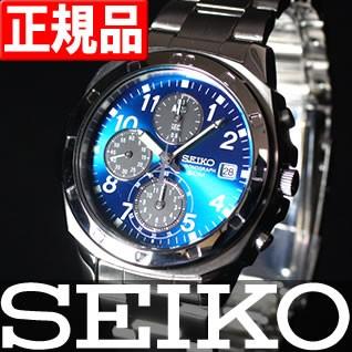 逆輸入 SEIKO セイコー メンズ 腕時計 50M クロノ...