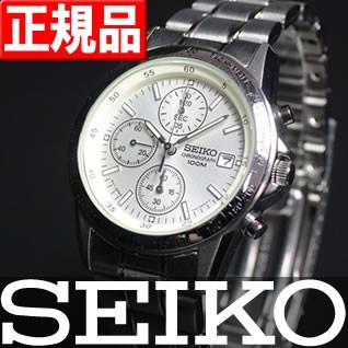 セイコー 逆輸入 クロノグラフ SEIKO 腕時計 SND3...