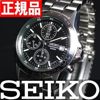 セイコー逆輸入 SEIKO クロノグラフ 100m防水 SND...