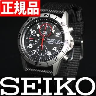 セイコー 逆輸入 SEIKO 腕時計 ミリタリー クロノ...