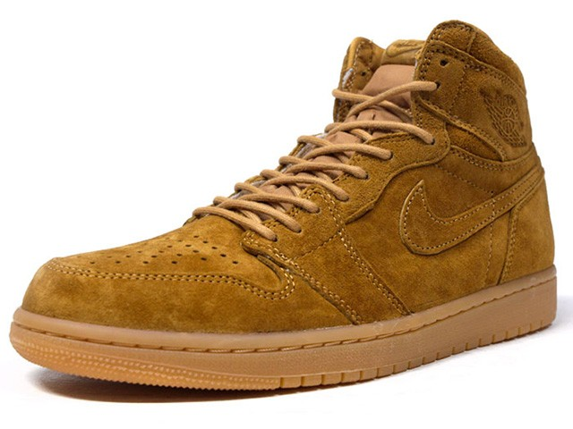 "NIKE AIR JORDAN 1 RETRO HIGH OG ""WHEAT"" ""MICH..."