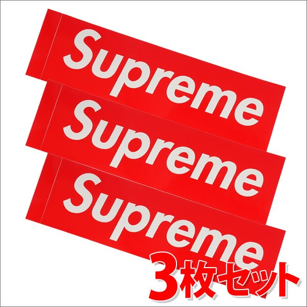 (新品)SUPREME(シュプリーム) Box Logo Sticker (...