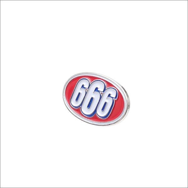 (新品)SUPREME(シュプリーム) 666 Oval Pin (ピン...