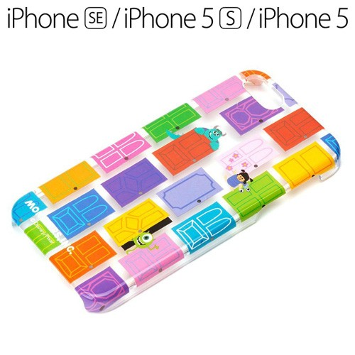 □ ディズニー iPhone SE / 5S / 5 専用 クリアケ...