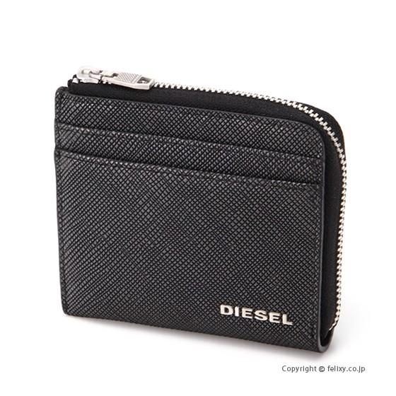 ディーゼル DIESEL カードフォルダー付きコインケ...