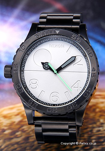 NIXON ニクソン 腕時計 スターウォーズコレクション フィフティーワンサーティー デススター/ブラック A172SW2383