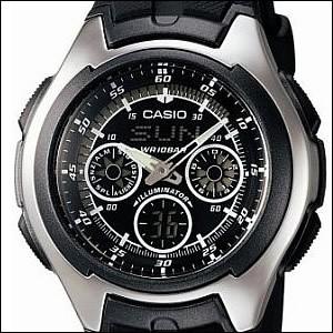 CASIO カシオ 腕時計 AQ-163W-1B1JF メンズ スタ...