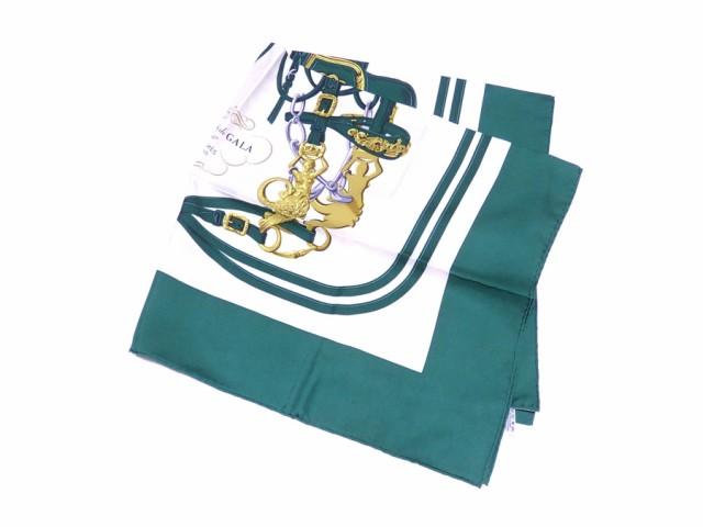 【定番人気】【中古】エルメス スカーフ BRIDES d...