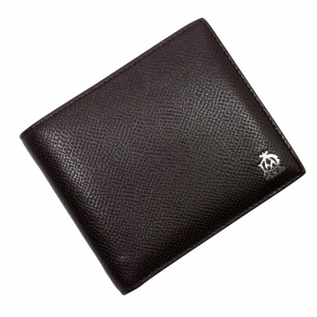 【定番人気】【中古】ダンヒル 二つ折り財布   メ...