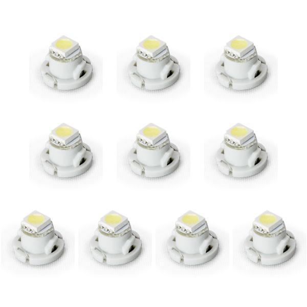 10個セット★ 12V車用 T4.7 マイクロ LED メータ...