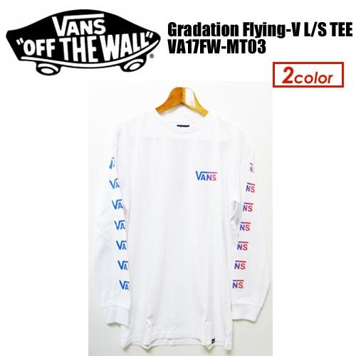VANS,バンズ,Tシャツ,ロンT,長袖●Gradation Flyi...