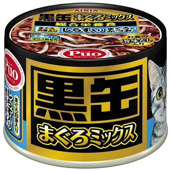 アイシア 黒缶まぐろミックス しらす入り 160g [...