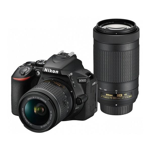 Nikon D5600 ダブルズームキット ブラック [デジ...