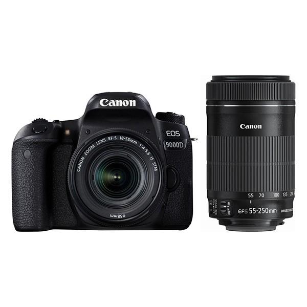 CANON EOS 9000D ダブルズームキット [デジタル一眼レフカメラ]【あす着】
