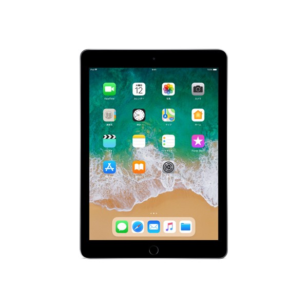 APPLE MR7F2J/A スペースグレイ [iPad Wi-Fiモデ...