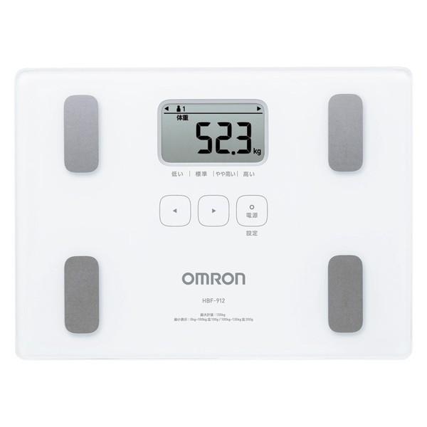 OMRON HBF-912 オムロン 体重体組成計 カラダスキ...