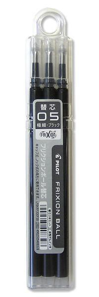 フリクションボールノック替芯0.5黒 LFBKRF30EF3B...