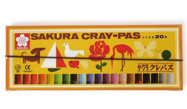 クレパス 20色 LP20R◆サクラクレパス◆クレパス