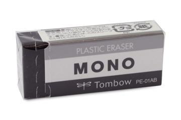 消しゴムモノPE01ブラック PE-01AB◆トンボ鉛筆◆...