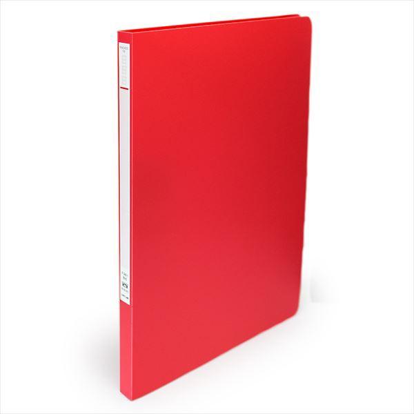 パンチレスファイル B5S 赤 F342-1◆LIHITLAB.◆...