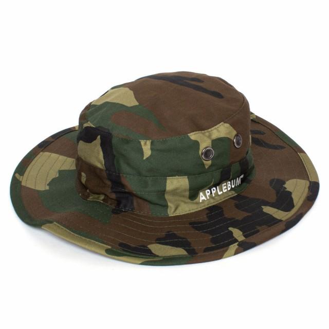 アップルバム APPLEBUM Safari Hat ミリタリー サ...