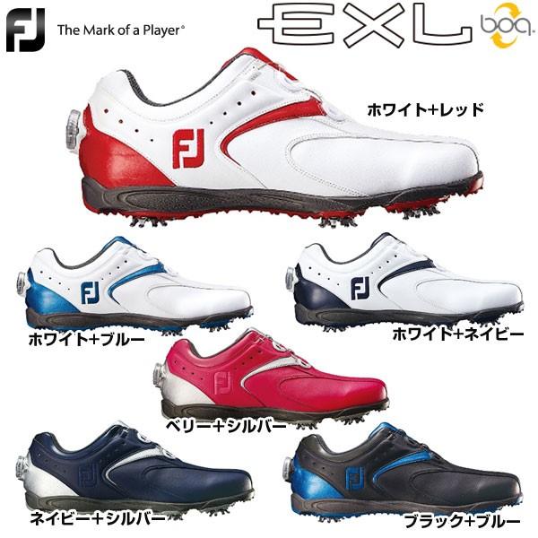 フットジョイ メンズ ゴルフシューズ EXL Boa 201...