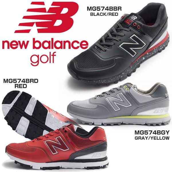 ニューバランス メンズ ゴルフシューズ MG574B ス...