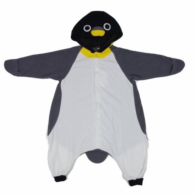 ハロウィン 衣装 フリース 着ぐるみ 子供 ペンギ...