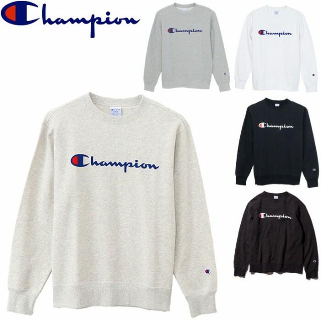 8c22a4cb40796 チャンピオン スウェット クルーネック メンズ トレーナー 全5色 C3-H004 スクリプトロゴ ロゴプリント