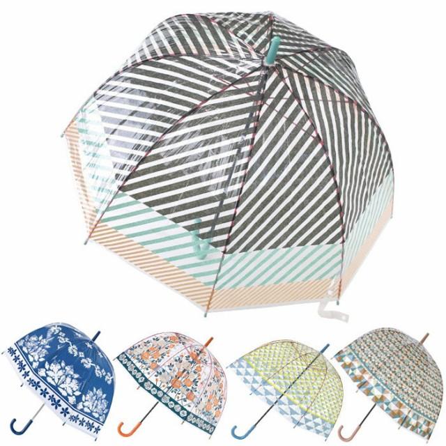 傘 レディース 長傘 ビニール傘 雨傘 ドーム型 ハッピークリアドーム アンブレラ 全5色 おしゃれ 女性 SPICE 雨 梅雨 かわいい