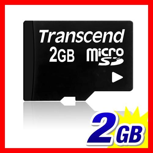 マイクロSDカード microSD2GB Transcend社製 永久...