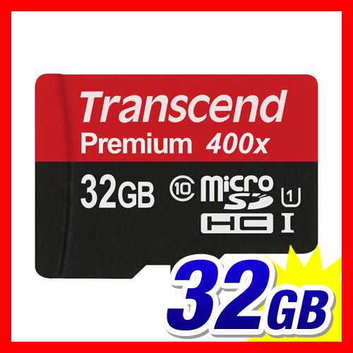 microSDHCカード 32GB class10 UHS-I対応 Transce...