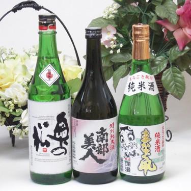 【第2弾】送料無料!東北限定地酒特別純米酒日本...