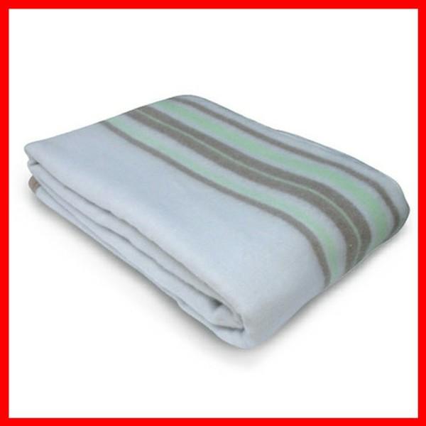 電気毛布 掛け敷き毛布 グリーン系 EM-706M TEKNOS  プラザセレクト