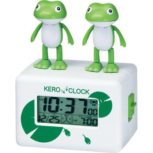 リズム時計工業 ケロクロック2 カエルのおしゃべ...