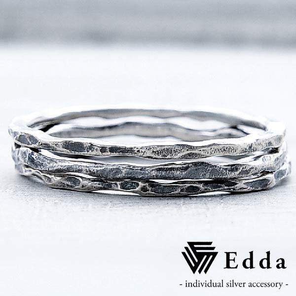 Edda エッダ リング 指輪 メンズ シルバー 3連 ER...