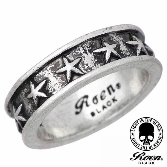 RoenBLACK ロエンブラック リング 指輪 メンズ ス...