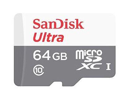 ■SanDisk microSDXC 64GB クラス10 SDSQUNB-064G-GN3MN【メール便送料無料】