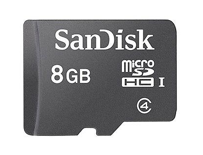 ■SanDisk microSDHC 8GB クラス4 SDSDQM-008G-B3...